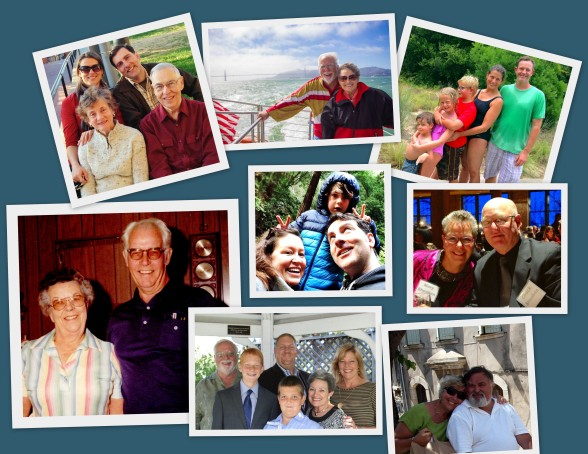 The Rooney Clan Collage 2015